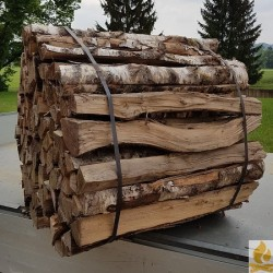1m Spaelten gebunden 1Ster Birken Hartholz
