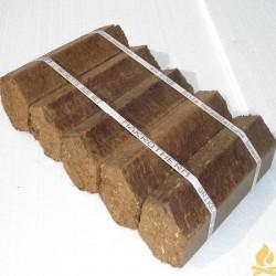 Rindenbriketts Bund gebunden a 5 Stueck 7kg