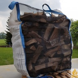 33cm Schittli im Big Bag 1Ster Birken Hartholz