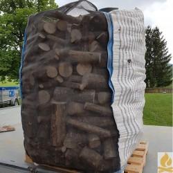 33cm Rundholz im Big Bag 1Ster Hartholz